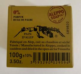 Alep zeep, 100 gram