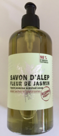 Vloeibare Alep zeep, jasmijn