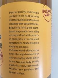 Vloeibare Alep zeep, sinaasappelbloesem