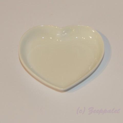Zeepschaaltje hart