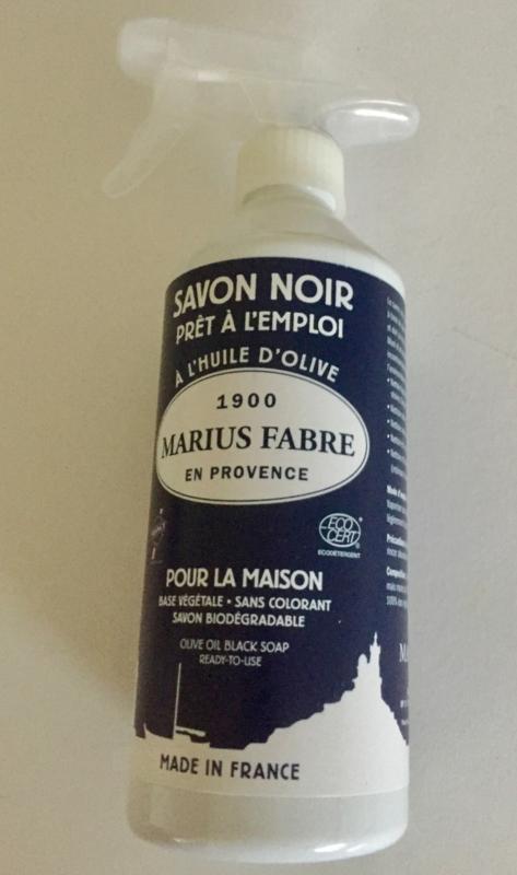 Savon noir liquide in een spray 'Maison'