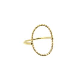 Move ring 14 karaat goud