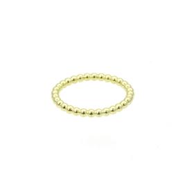 Honey ring 14 karaat goud