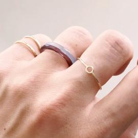 Inner ring 14 karaat goud
