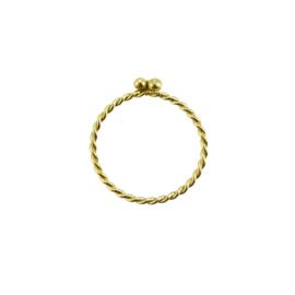 Nibble ring 14 karaat goud