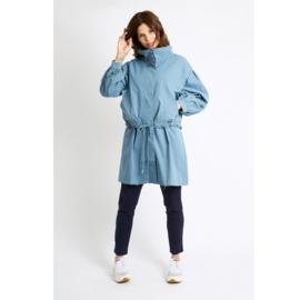 Parka jas lichtblauw