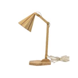 Houten lampje Henk's Wood no. 8