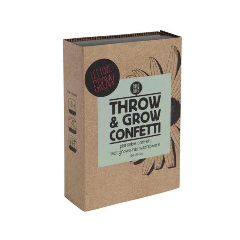 Throw & grow confetti