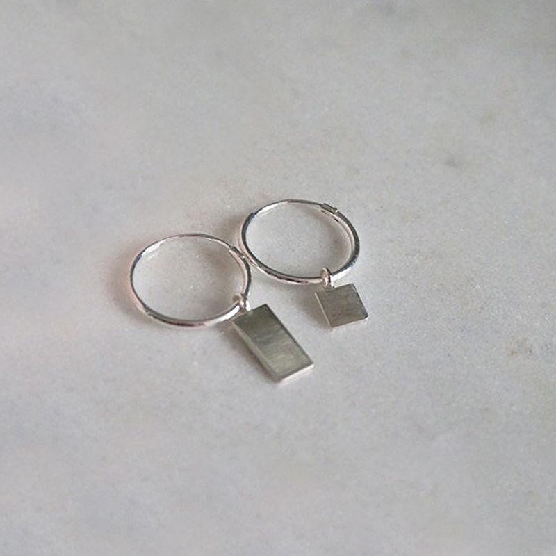 Better together oorbellen zilver