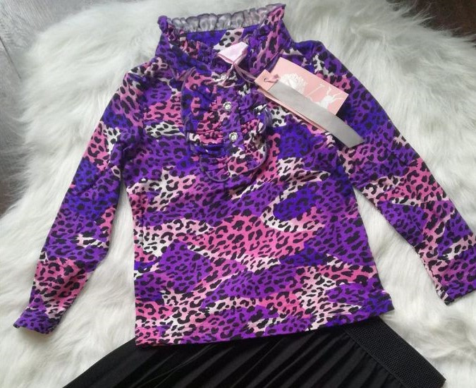 Blouse paars 152/158