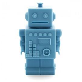 KG Design spaarpot robot licht blauw
