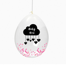 Huusje Ballonnen baby girl