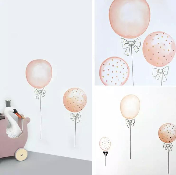 Muurstickers Balloons