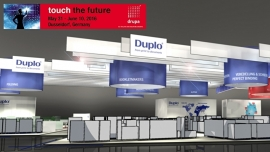Samenwerking Duplo International en HP tijdens Drupa
