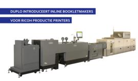 Duplo introduceert inline bookletmaker range
