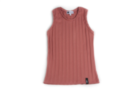 Tank top - RIBBED TULIPWOOD
