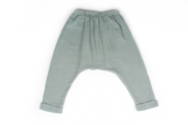 Baggy beach trousers - MINT