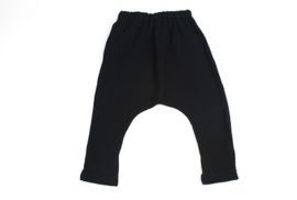 Baggy beach trousers - BLACK