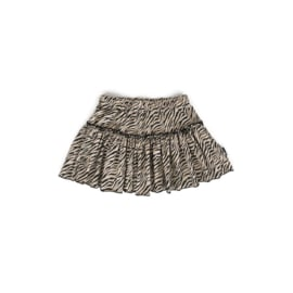 Skirt - RUFFLE ZEBRA