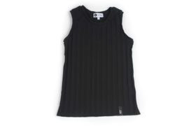 Tanktop - RIBBED BLACK