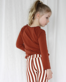 Leggings - STRIPEY RUSTY