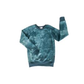 Sweater - TIE DYE BLUE