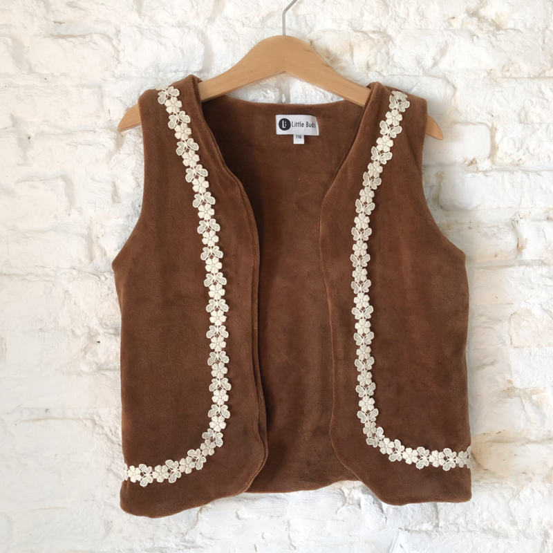 Gilet - BUTTERFLY BROWN