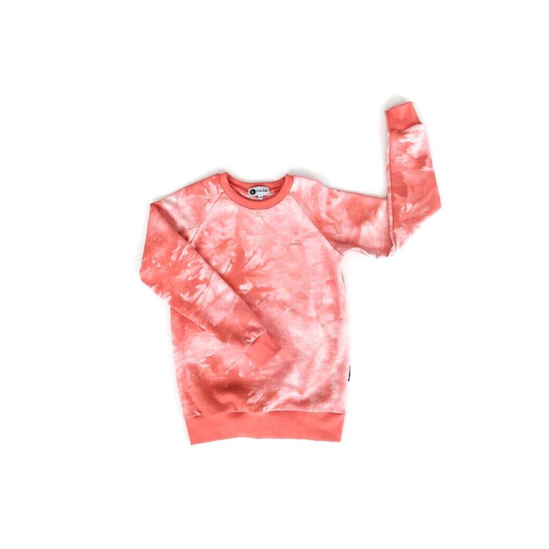 Sweater - TIE DYE PEACH