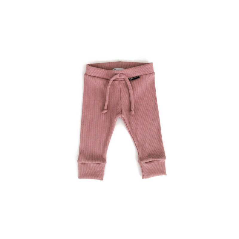 Baby Leggings - OLD PINK