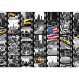 Fotobehang 1665 USA New York filmrol