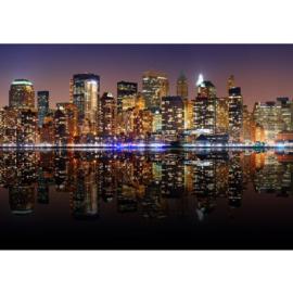 Fotobehang poster 0020 skyline new york big apple empire state building