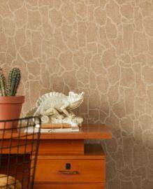 Eijffinger Skin 300533 slangeprint beige