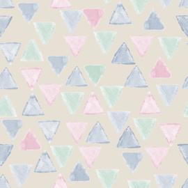 27172 driehoek roze blauw mint groen