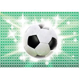 Fotobehang poster 1038 kinderkamer voetbal sport groen wit groningen