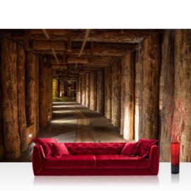 Fotobehang poster 0027 mijn natuur gangen balken