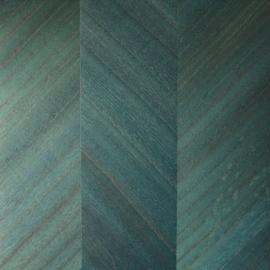 Walter wa003 visgraat motief aqua blauw turquoise