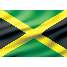 Fotobehang 1928 vlag Jamaica caribisch gebied