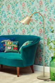 Eijffinger Pip 4 375061 landelijk/blauw/groen/bloemen