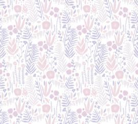 AS 381181 bloemen roze paars wit