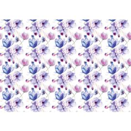 Fotobehang poster 2154 bloemen schilderij