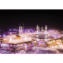 Fotobehang 1406 Saoedie Arabie Mekka moskee gebed