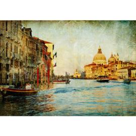 Fotobehang poster 0228 italie venetie romantisch schilderij