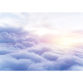 Fotobehang poster 2928 boven de wolken hemel