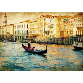 Fotobehang poster 0240 italie venetie gondel