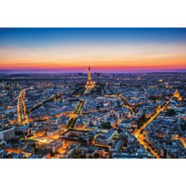 Fotobehang 1345 Frankrijk Parijs skyline