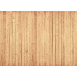 Fotobehang poster 1984 hout planken bruin beige