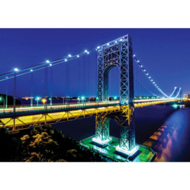 Fotobehang 1334 USA New York Manhattan bridge brug