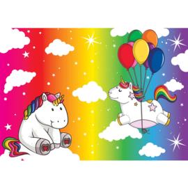 Fotobehang poster 4467 kinderkamer unicorn