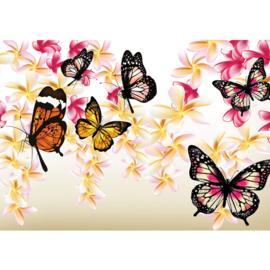 Fotobehang poster 1559 dieren vlinders