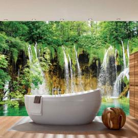 Fotobehang poster 1617 waterval natuur
